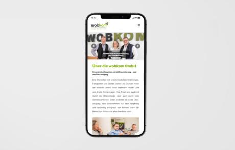 Wobkom Remscheid Website Webdesign 3