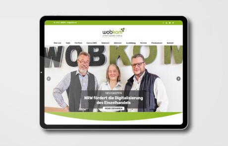 Wobkom Remscheid Website Webdesign 2
