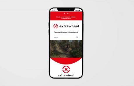 Extrawheel Deutschland Website Webdesign 1
