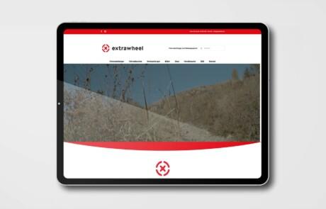Extrawheel Deutschland Website Webdesign 2