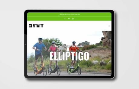 Fitwitt Witten Website Webdesign 1
