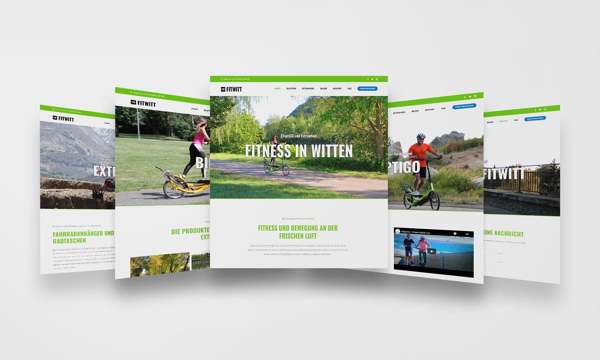 Fitwitt Witten Website Webdesign 2
